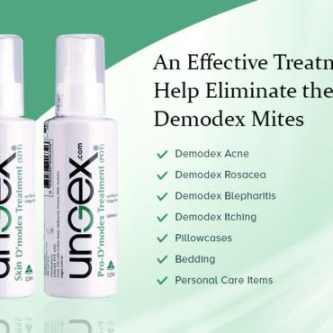 UNGEX DEMODEX MITES TREATMENT 50% OFF